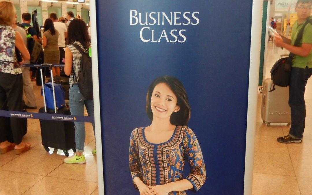Mi experiencia con la Clase Business de Singapore Airlines
