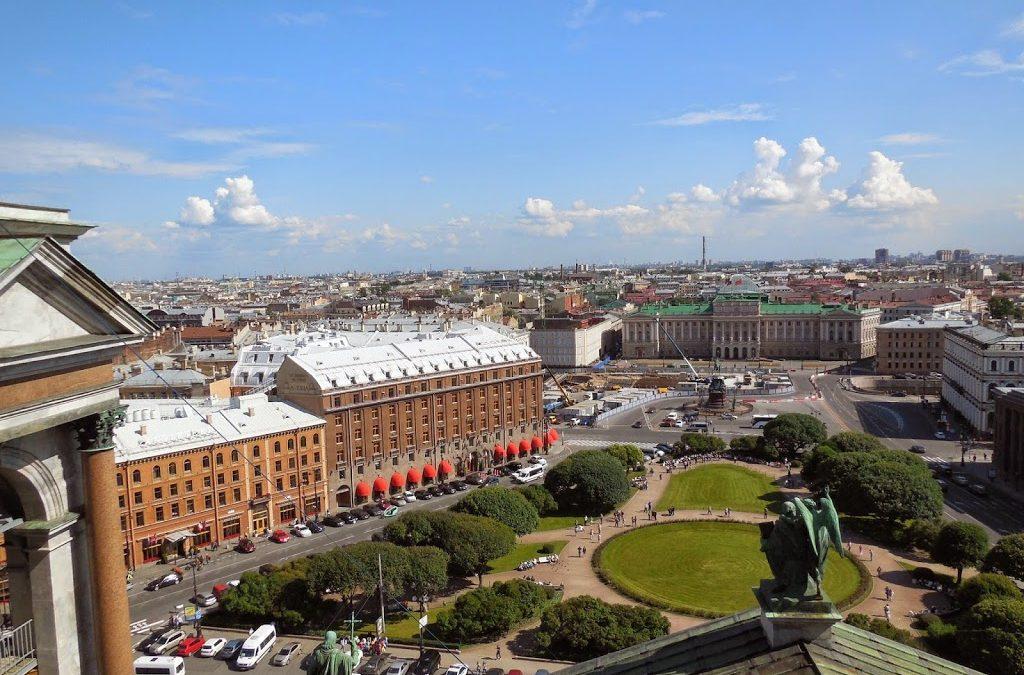 Mi selección de hoteles en San Petersburgo