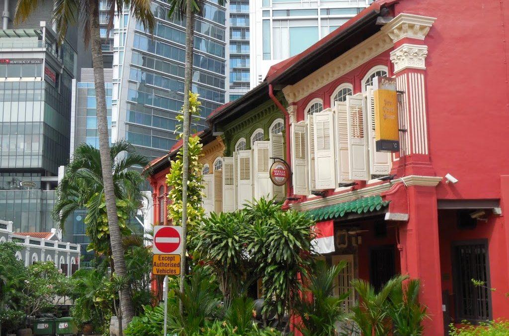 Herencia Peranakan en Singapur