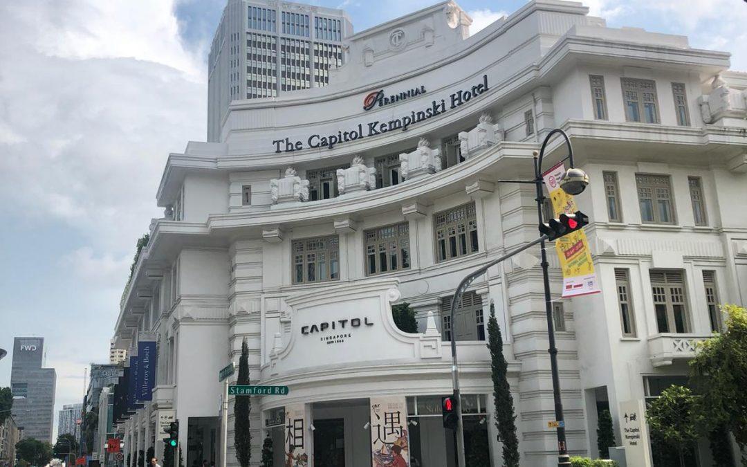 Mi experiencia en The Capitol Kempinski, y mis sugerencias chic en Singapur