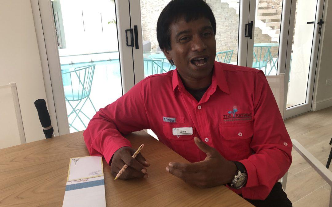 Mi entrevista al Dr. Vinod Balakrishnan, director ayurvédico de Vida Mia Healing Center & Spa en The Retreat Costa Rica