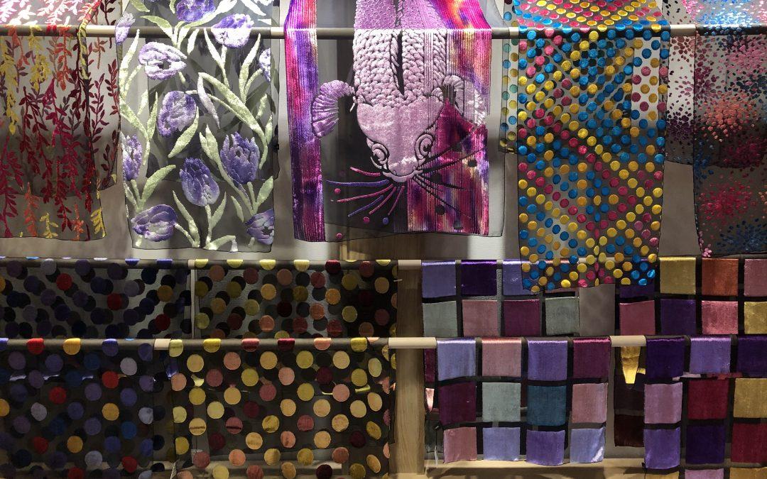 Mi experiencia estampando seda en Brochier Soieries en Lyon